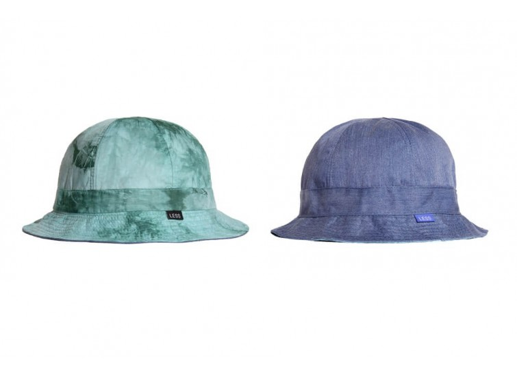 LESS - TIE DYE REVERSIBLE MILITARY HAT