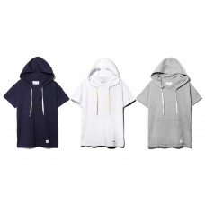 LESS - S/S HOODED TEE