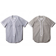 LESS - STRIPE BASEBALL SHIRT