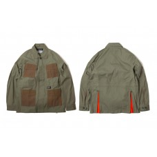 LESS X DOMINATE - TWO TONE TROOPER JACKET - Olive