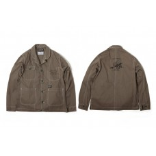 LESS X DOMINATE - WORKING JACKET - Olive