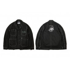 LESS X DOMINATE - WORKING JACKET - Black