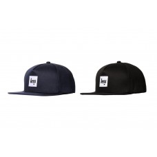 LESS - SQUARE LOGO WORK HAT (NAVY, BLACK)