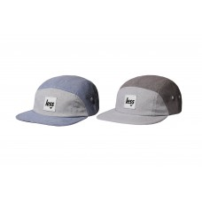LESS - SQUARE LOGO 7 PANEL CAMP CAP 雙色