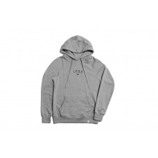 LESS - ARCH LOGO HOODIE (HEATHER GRAY)