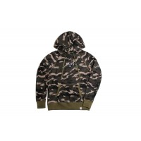 LESS - ARCH LOGO HOODIE (CAMO)