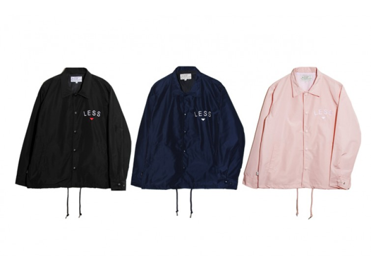 LESS - CITY SKATER COACH JACKET