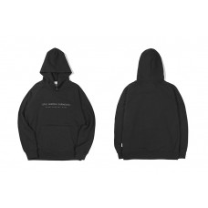 LIFUL x LESS MOOD EMB PULLOVER HOODIE