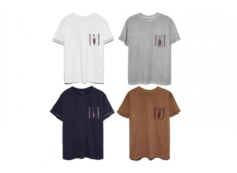 GOOD ON X LESS INDIAN POCKET S/S TEE