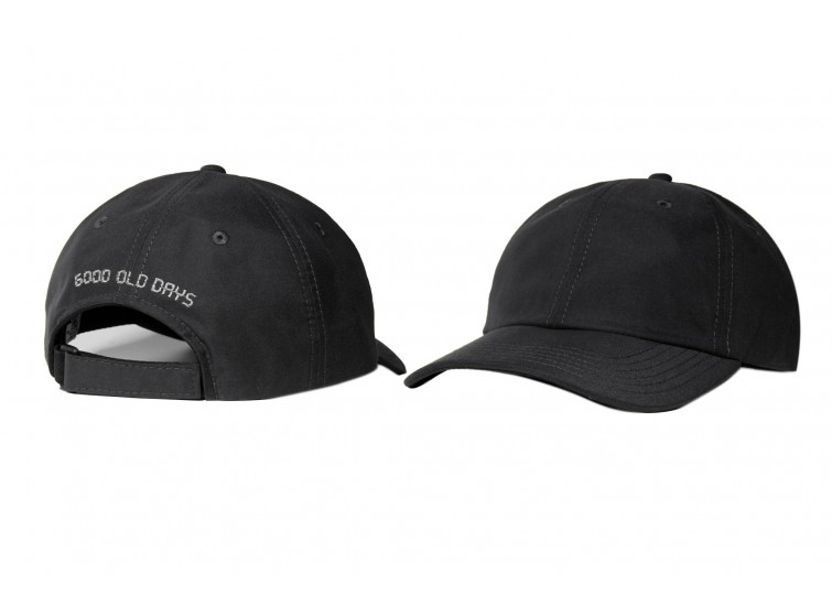 LESS - GOOD OLD DAYS 6 PANEL CAP (BLACK)
