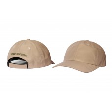 LESS - GOOD OLD DAYS 6 PANEL CAP (KHAKI)