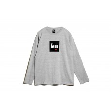 LESS - SQUARE LOGO LONG SLEEVE T-SHIRT