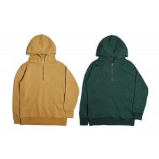LESS - BASIC ZIP PULLOVER HOODIE