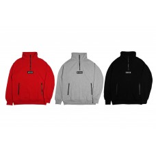 LESS - HALF ZIP UP SWEATSHIRT