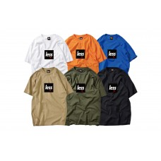 LESS - SQUARE LOGO TEE