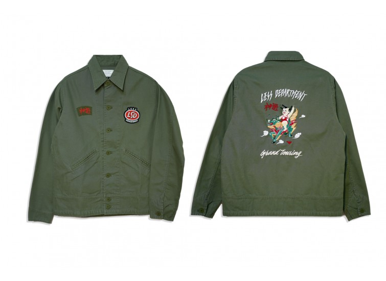 LESS - GRAND TOURING SOUVENIR JACKET