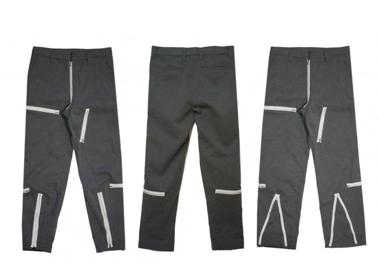 LESS - ZIPPERS PANT