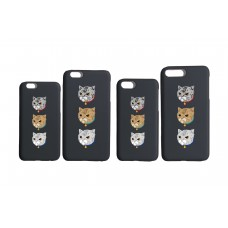 LESS - 3 CATS IPHONE CASE (SUM)