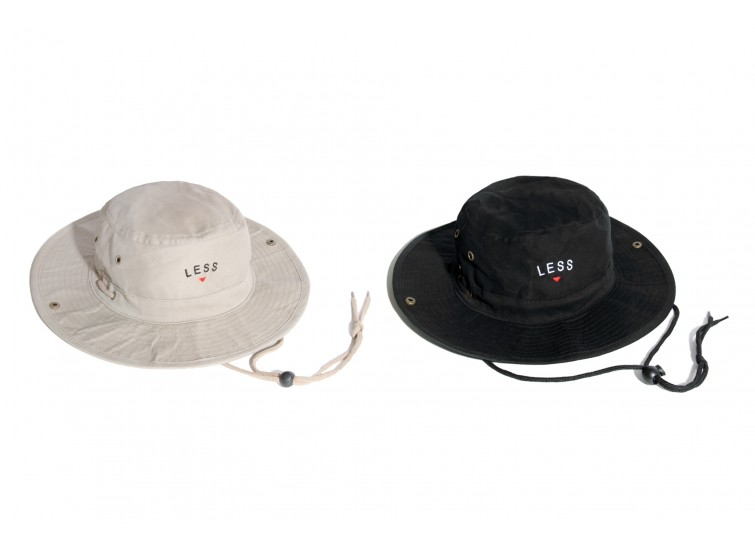 LESS - SMALL ARCH LOGO BOONIE HAT