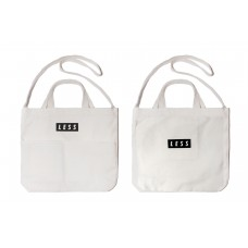 LESS - Tote Bag - White