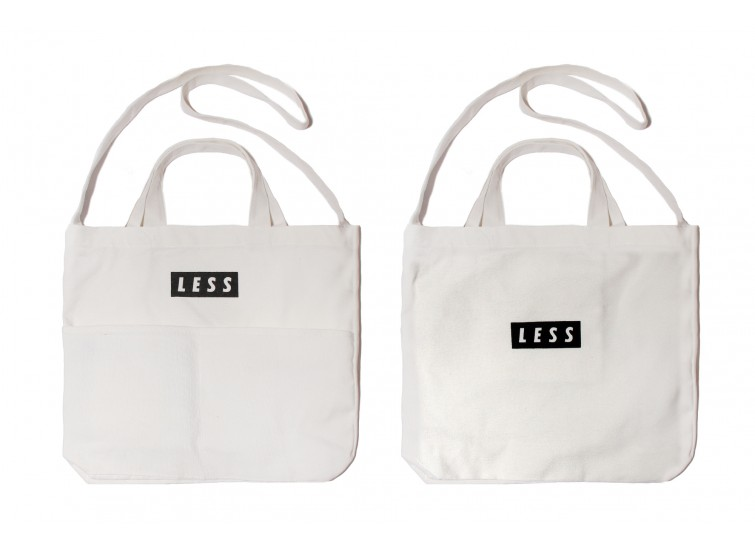 LESS - Tote Bag - White
