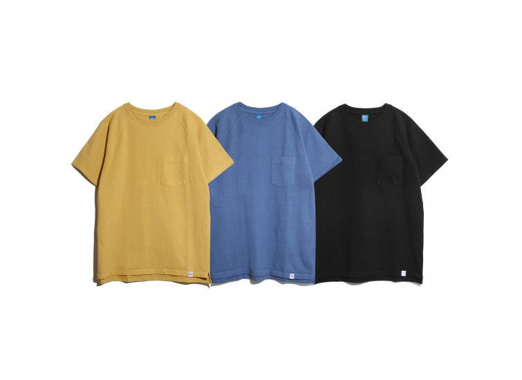 GOOD ON X LESS - S/S HEAVY POCKET TEE 18SS