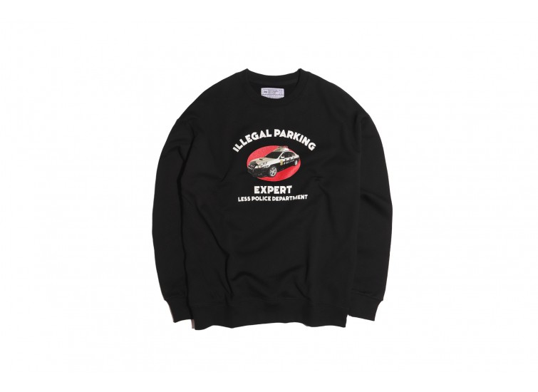 LESS - illegal parking expert Sweatshirt