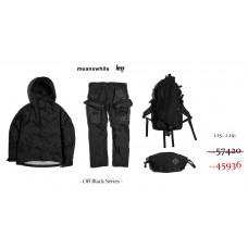 meanswhile x Less - Off Black Series 預購