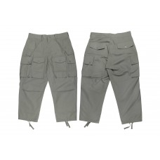 LESS - Multi Pocket Ripstop Pants - Sage