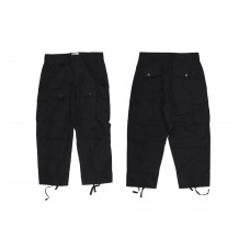 LESS - Multi Pocket Ripstop Pants - Black