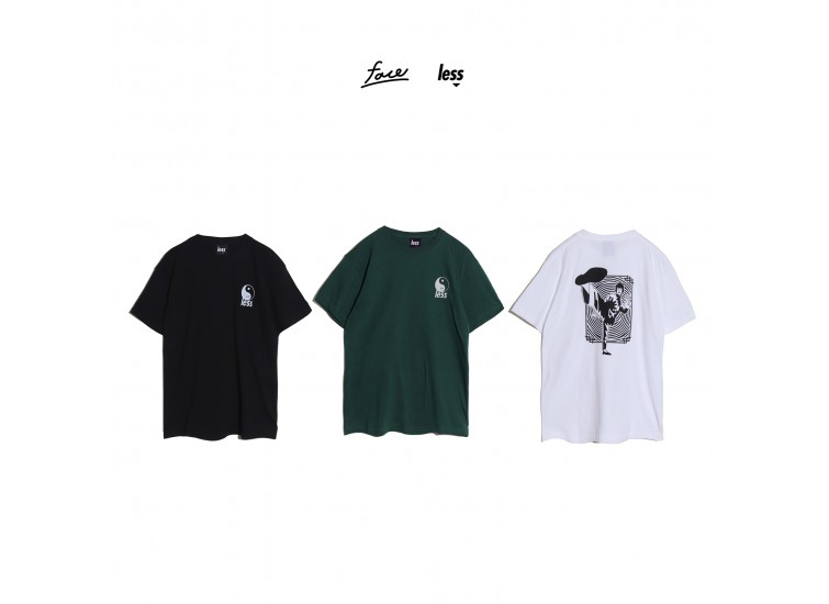 LESS x face - Bruce Lee Tee 李小龍
