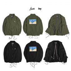 LESS x face - l'ultima cena Coach Jacket