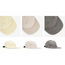 NORSE PROJECTS - LIGHT FAUX SUEDE FLAT CAP