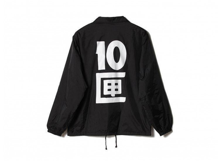 TENBOX  - J TENBOX COACH JACKET (BLACK)