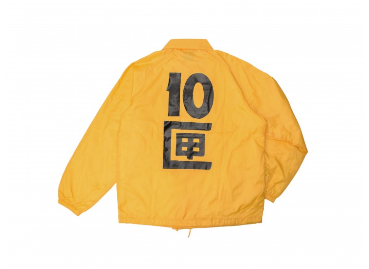 TENBOX  - J TENBOX COACH JACKET (YELLOW)