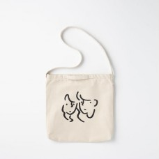 "長場雄 Yu Nagaba - 2WAY Tote bag ""Faces"" YN200107 官方授權"