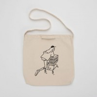 "長場雄 Yu Nagaba - 2WAY Tote bag ""Shopping Girl"" YN200108 官方授權"