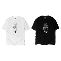 LESS X YU NAGABA - S/S Tee - Roman Holiday - 長場雄