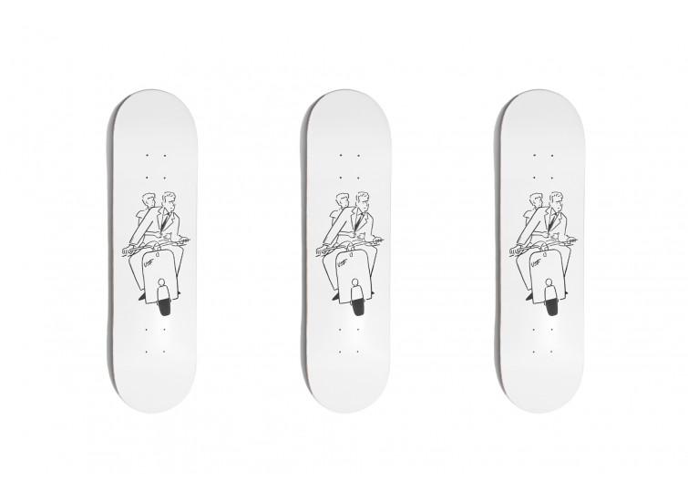 LESS X YU NAGABA - Skateboard - Roman Holiday羅馬假期 預購 長場雄