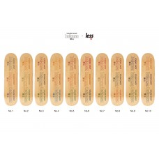 LESS x SOUNDSHOP balansa Multi Logo Skateboard