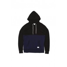 LESS - PANEL PULLOVER HOODED