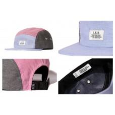 LESS - SIMPLE LOGO CAMP CAP (BLUE/RED/BLACK)