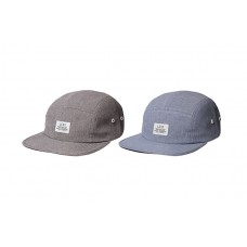 LESS - SIMPLE LOGO CAMP CAP (Gray, Blue)