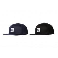 LESS - SQUARE LOGO WORK HAT (NAVY, BLACK)