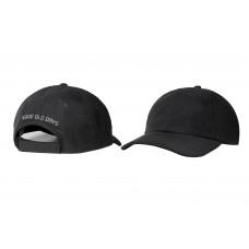LESS - GOOD OLD DAYS 6 PANEL CAP (BLACK)