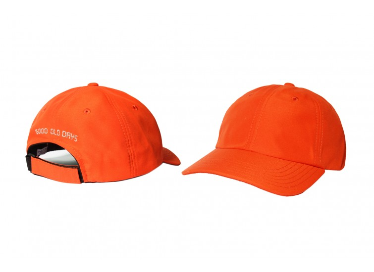 LESS - GOOD OLD DAYS 6 PANEL CAP (BURNT ORANGE)