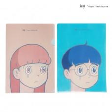 LESS x YUYA HASHIZUME - A4 L Folder 文件夾 雙面 橋爪悠也