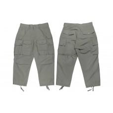 LESS - Multi Pocket Ripstop Pants - Sage