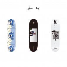 LESS x face - Skateboard 8.25 inch